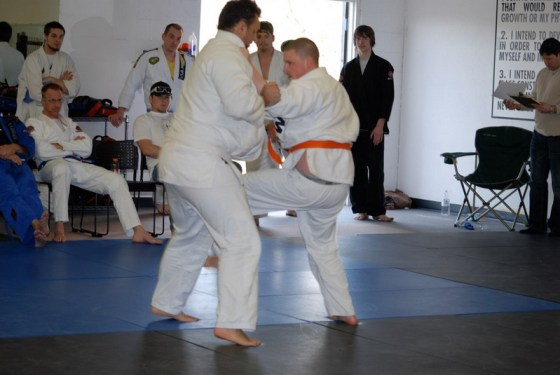 The mount in Gracie Jiu Jitsu
