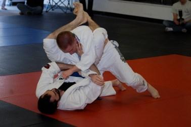 rear naked choke - jiu jitsu technique