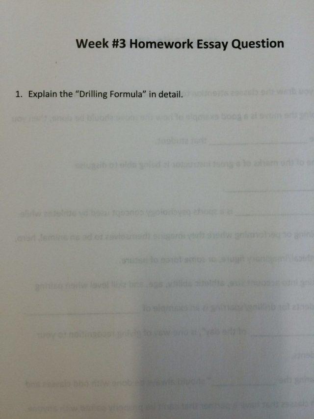Video 3 Homework Essay