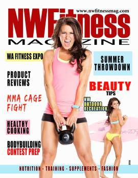NW Fitness Magazine - Cover Model - Noelle Richards