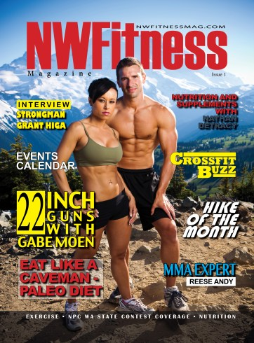 Jen Turnbull - Cover Model, NPC Competitor, Crossfit Competitor and Optimum Nutrition sponsored Athlete/Model