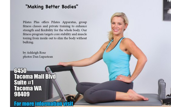 """Making Better Bodies"" Pilates Plus by Ashleigh Rose"