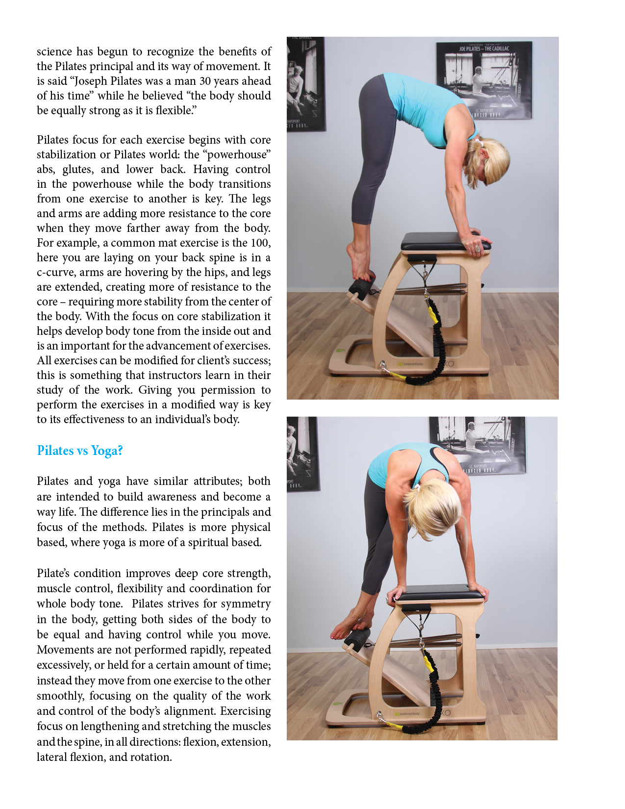 Making Better Bodies Pilates Plus By Ashleigh Rose Nw Fitness Magazine