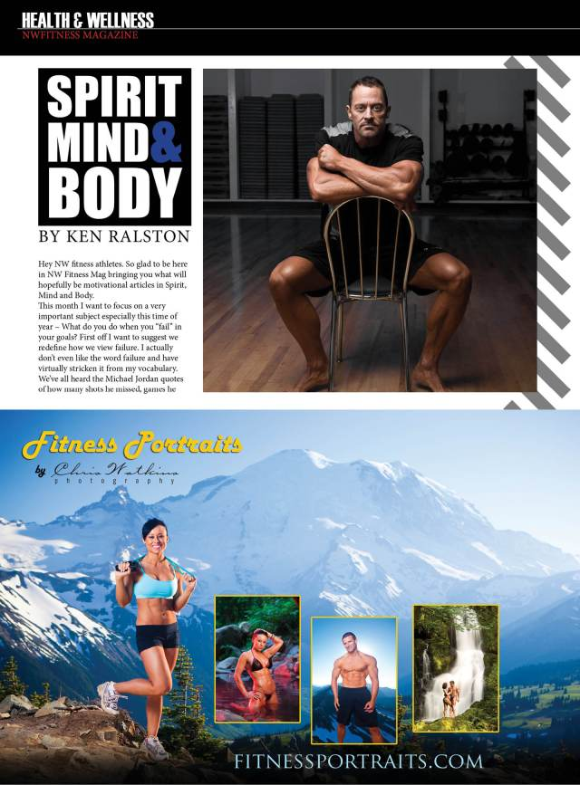 NW FitnessMagazine  Spirit, Mind and Body  by Ken Ralston
