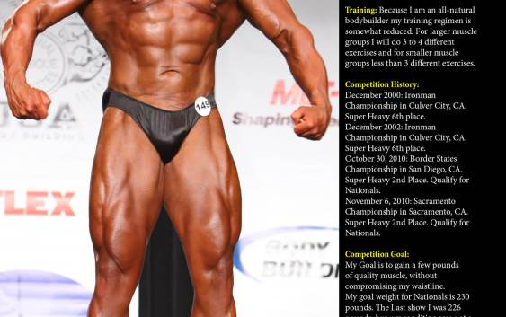 NW Fitness Magazine March Profiles (2012) Rocco Cristofaro
