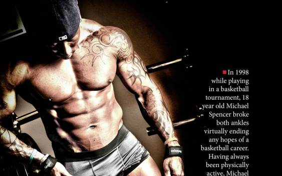 NW Fitness Magazine Driven to the Arnold An interview with NPC Champion, Michael Spencer