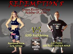 The Redemption 8 Amateur MMA Fights