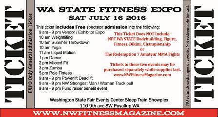 Fitness EXPO Ticket