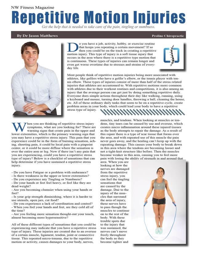Dr Jason Matthews Proline Chiropractic