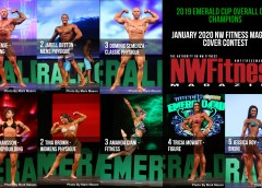 One Male & One Female Open Class Winner from the 2019 NPC Emerald Cup will be on the cover of the next issue of NW Fitness Magazine. Vote for your favorite Open Overall Class Winner.