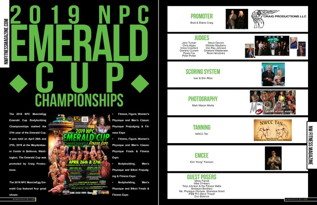 Inside this issue you can find:  Event coverage from the following competitions: 2019 N.P.C Emerald Cup 2019 N.P.C, Vancouver Open 2019 N.P.C, Judgement Day 2019 N.P.C, Empire Classic,