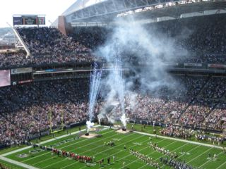 Seahawks and 49er Game