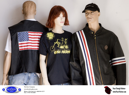 "Kerr Leather ""Captain America"" Clothing"