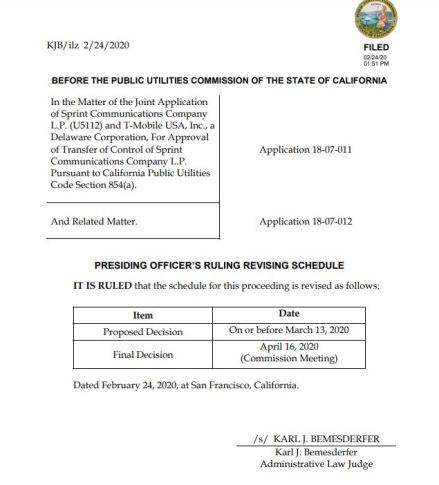 CPUC NWIDA Sprint Decision