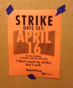Strike date set