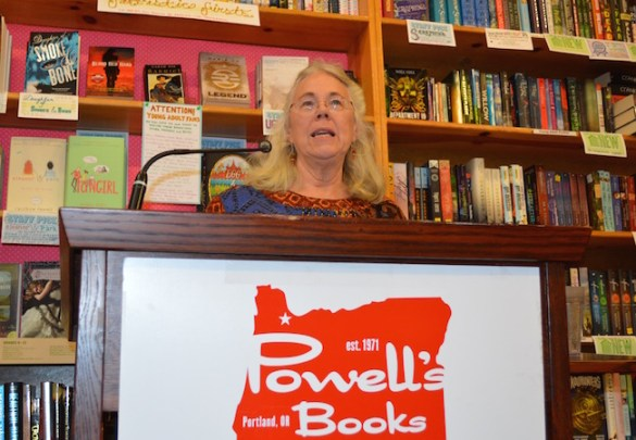 Retired union attorney Susan Stoner reads from Dead Line, her fifth novel, at Powell's Books on Hawthorne.