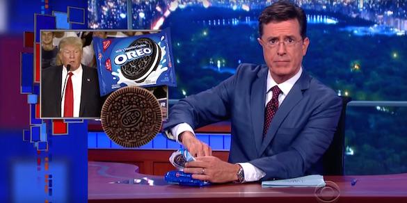 Colbert on Trump's Oreo boycott