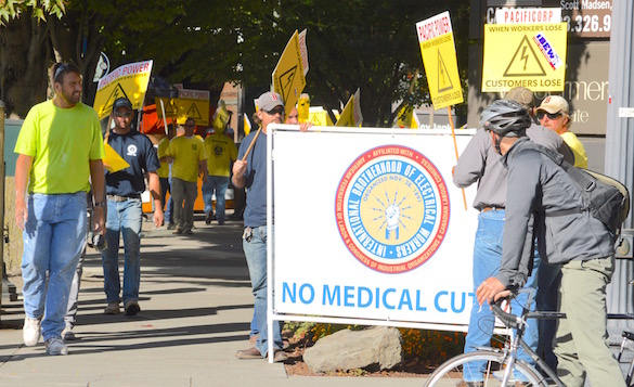 Pacificorp Picket