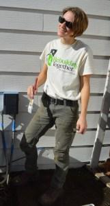 Carpenters Local 1503 member Sarah Roberts.