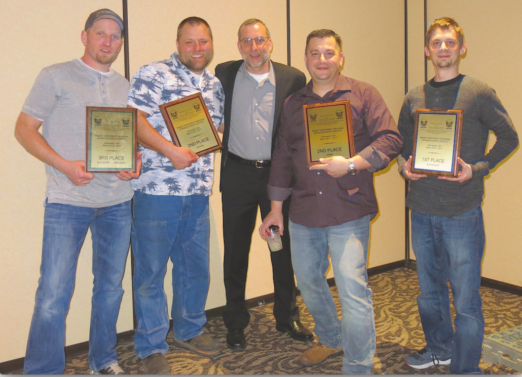 Sheet Metal Local 16 Apprentices Shine At Regional Contest