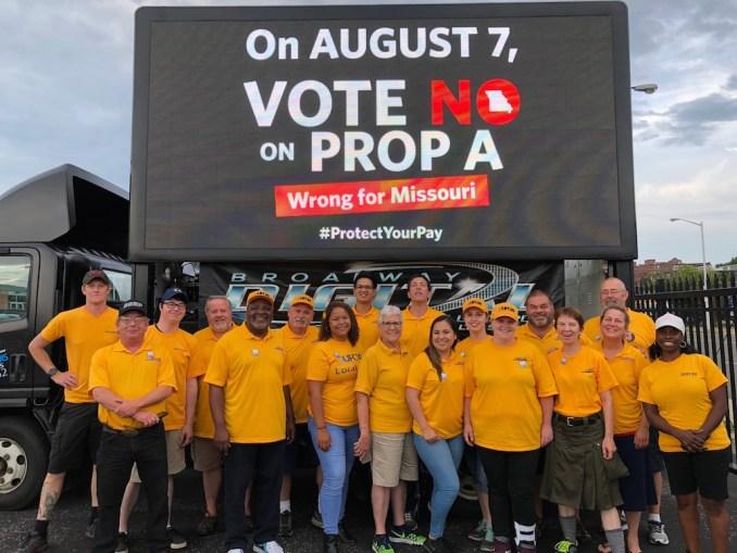 Missouri voters trounce 'right-to-work' | IATSE Local 728