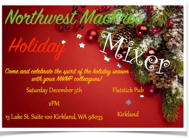 NWMP Holiday Mixer 2015