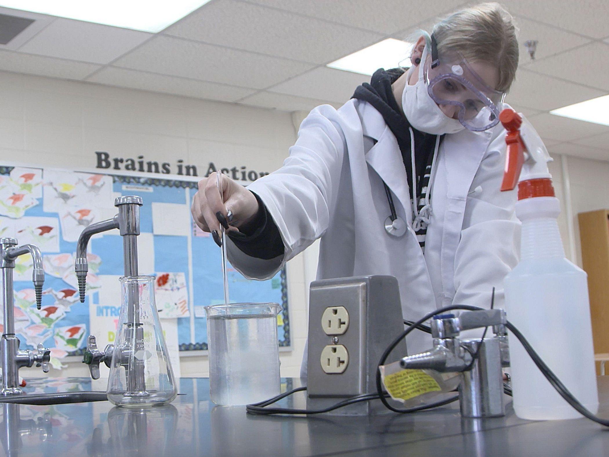 NWMHS Science Lab