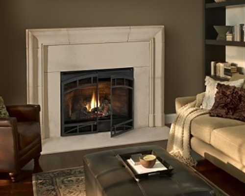 Zero Clearance Gas Fireplace Heatilator Novus NXt NW Natural