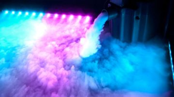 Dancing on the Clouds (Dry Ice Machine)