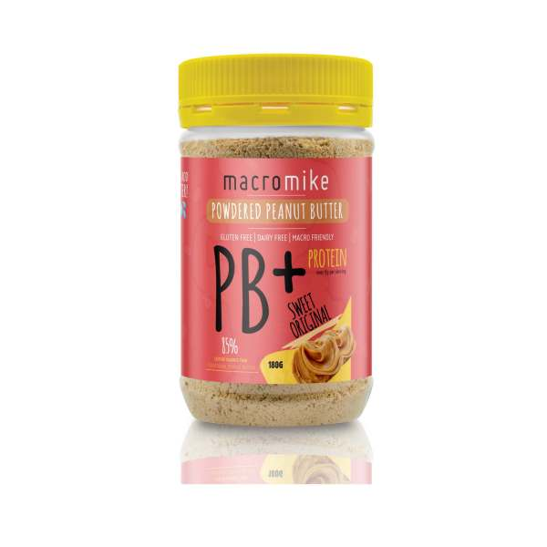macro mike powdered peanut butter