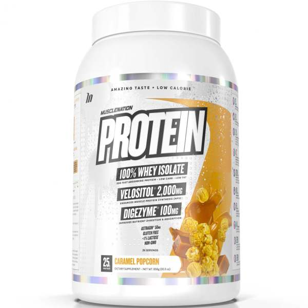 muscle nation protein caramel popcorn