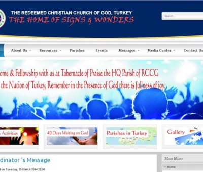 RCCG Turkey Site