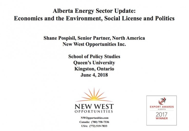 Alberta Energy Sector Update