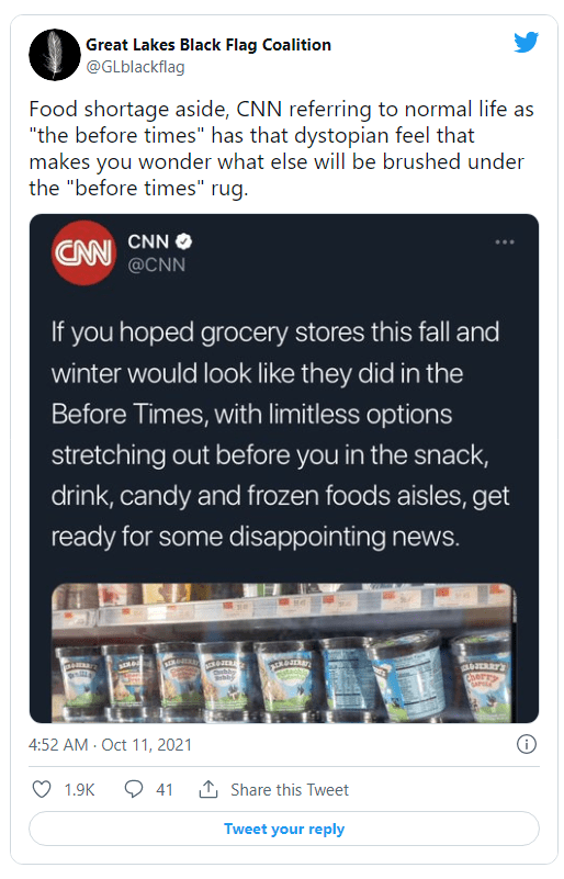 "CNN Uses Creepy, Dystopian ""Before Times"" Rhetoric to Justify Empty Shelves Image-901"