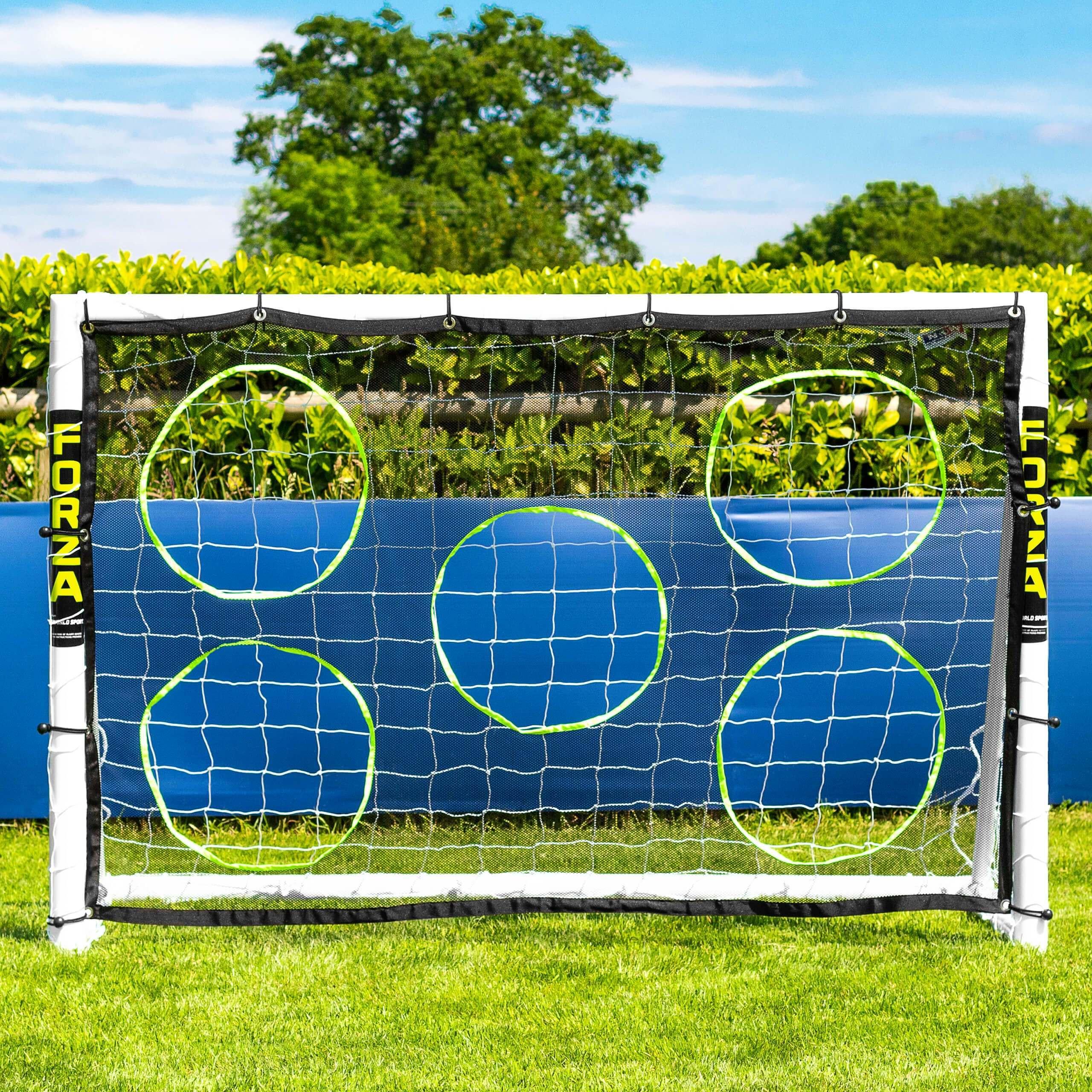 Soccer Goal Target Sheets 9 Size Options