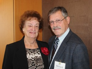 50-year member Hon. Richard Thorpe and Mary Pat Thorpe