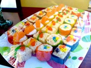 Candy Sushi Tray