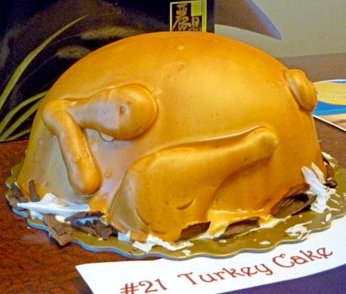 Turkey Cake by Regnt Bakery