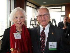 Stephen and Lynn Johnson