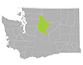Chelan County map