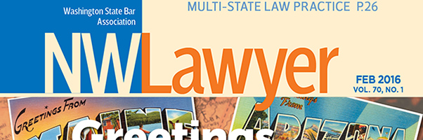 Cover of February 2016 NWLawyer