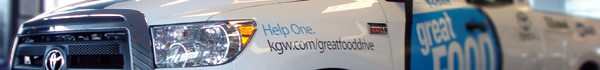 Vehicle Graphics for KGW feat. Graphic Design by NW Sign Solutions