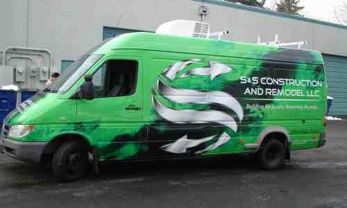 sprinter full fleet vehicle wraps vancouver