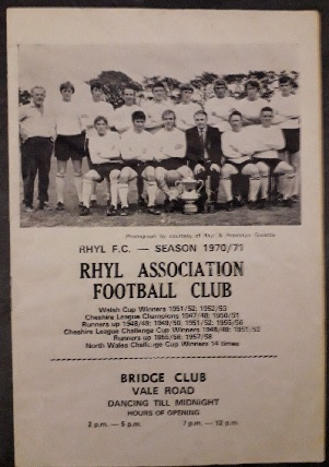 North Wales football's greatest stories – No17: Rhyl FC's FA Cup heroics