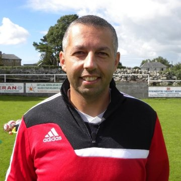 Mark Jat is back at Llanrug United as first-team manager