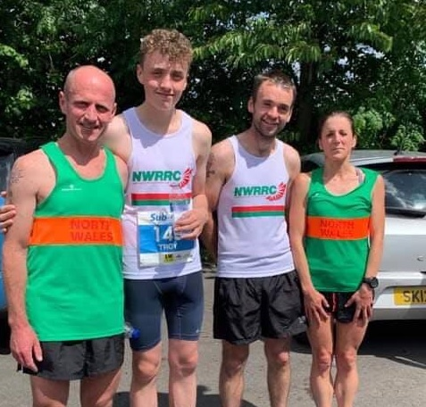 North Wales Road Runners Club members strike gold with six wins at top event in Rhyl