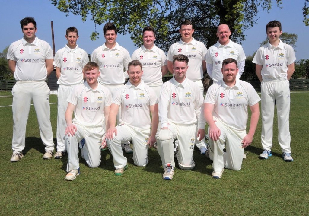 Pontblyddyn cricket team