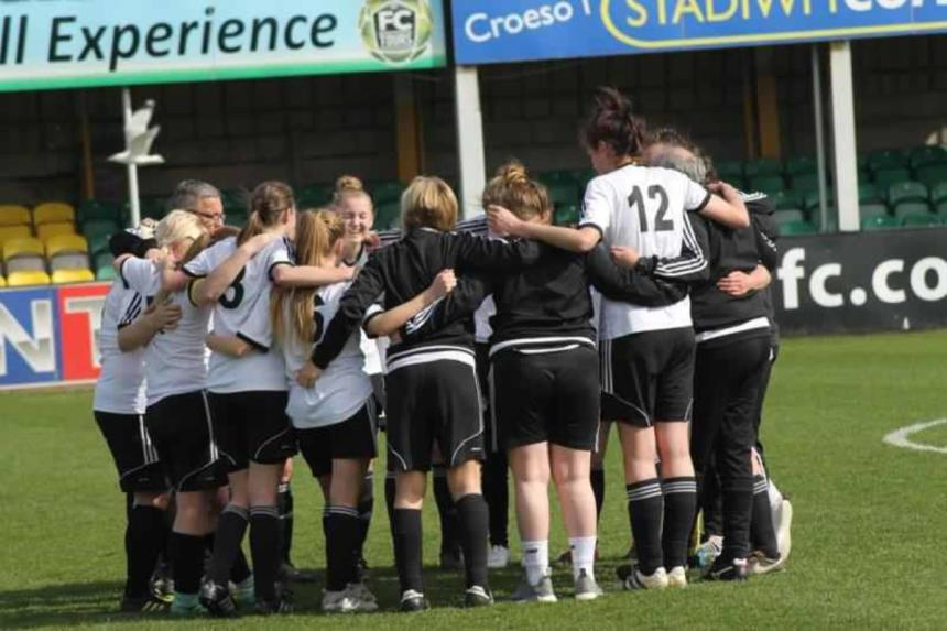 Rhyl Ladies FC are determined to make the most of their great escape
