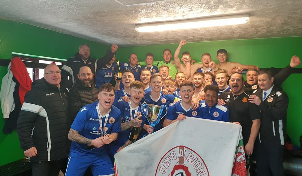How do the North East Wales Football League keep producing such amazing teams?