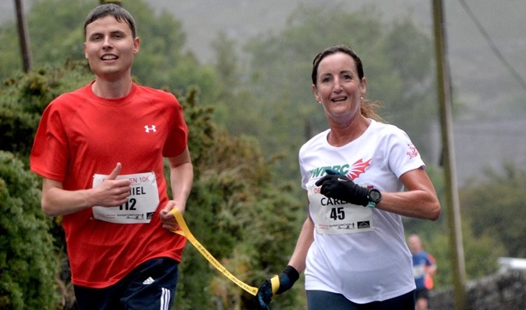 Partially sighted runner Daniel aims for the top